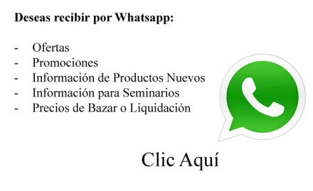 informacion por whatsapp